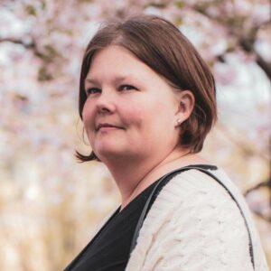 Johanna, lagkassör i Tullinge Fotboll